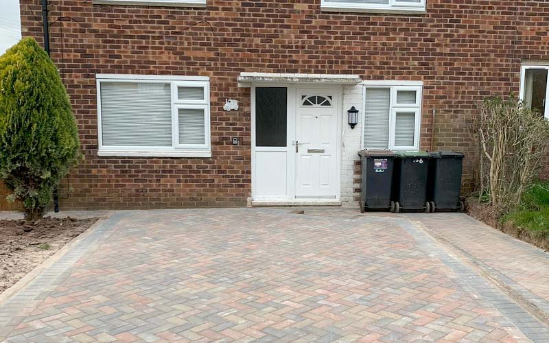 New driveway work  in Leicestershire